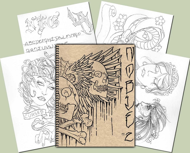 Todd Noble - Sketchbook Vol. 2