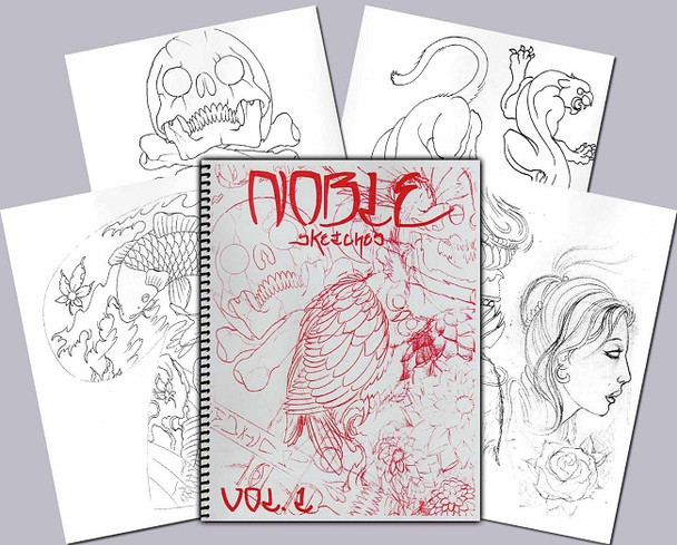 Todd Noble - Sketchbook Vol. 1