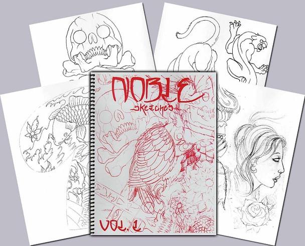 Todd Noble - Sketchbook Vol. 1
