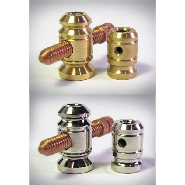 Binding Post Set with contact screw - Custom Set
