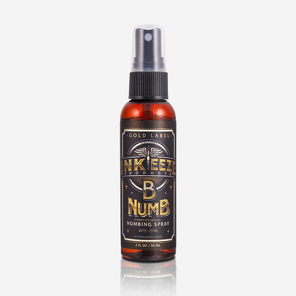 "Inkeeze ""Gold Label"" Numbing Spray - 2 ounce"