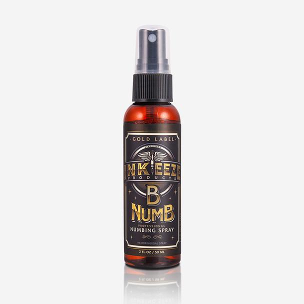 """Inkeeze """"Gold Label"""" Numbing Spray - 2 ounce"""