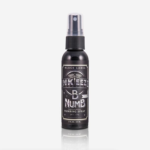 """Inkeeze """"Black Label"""" Numbing Spray - 2 ounce"""