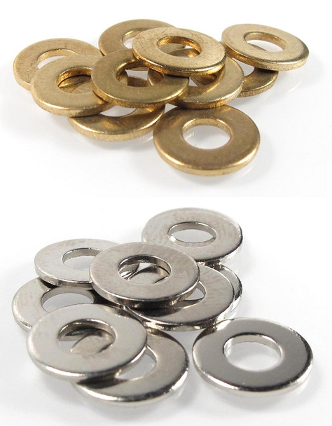 Flat #8 Washers ~ 10 pack