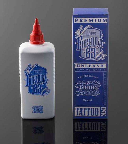 Formula 23 - Black Tattoo Ink 10oz bottle