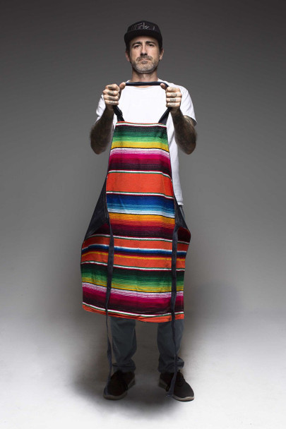 Hand Made Tattoo Apron - Sarape Liner
