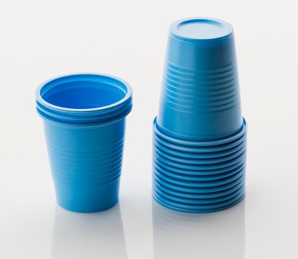 Blue Rinse Cups - 50 per bag