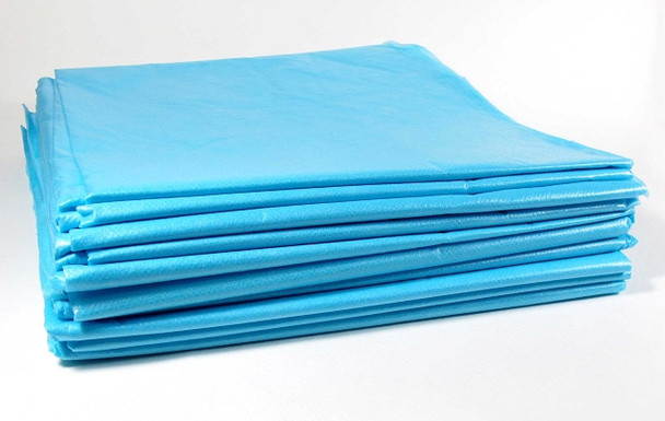 """The Bulldog Drape Sheets - SUPER TOUGH -  40"""" x 90"""" - Box of 50"""
