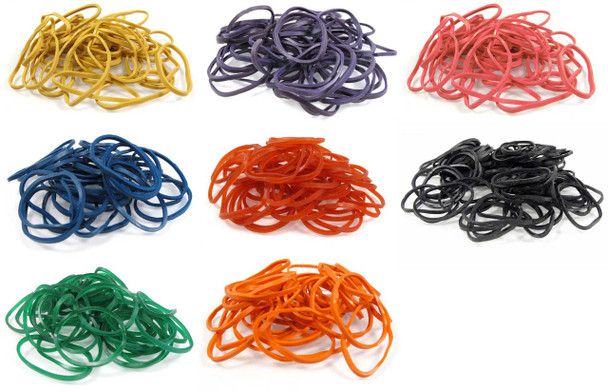 Rubber Bands - 1 Pound Bag