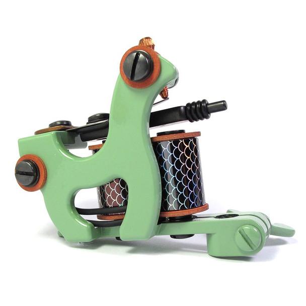 Brian Patton Tattoo Machine - One-Off Liner (green)