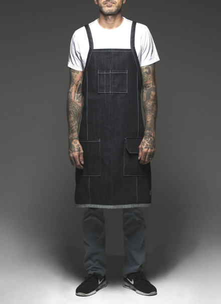 Hand Made Tattoo Apron - The Traditional V-Back