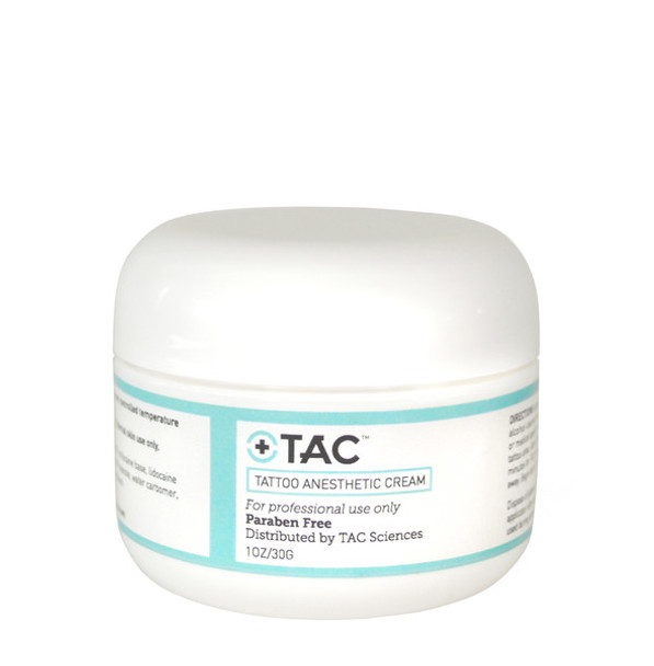 TAC - Tattoo Anesthetic Cream 1 OZ
