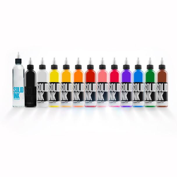 Solid Ink Spectrum Set ( 12 colors - 1oz / 2oz /4oz)