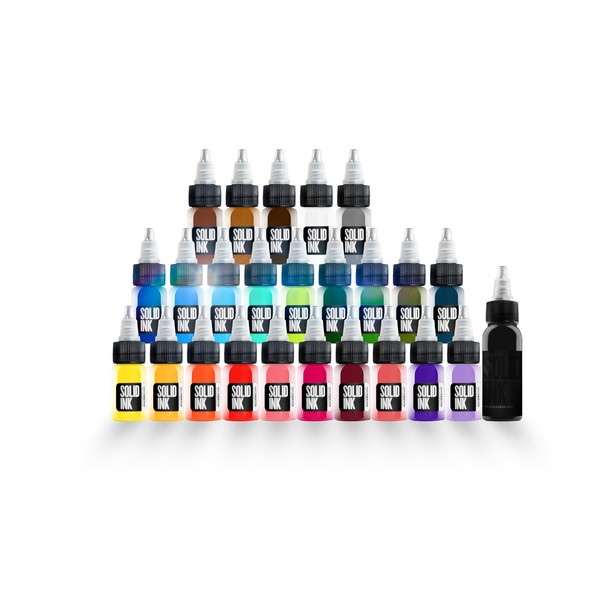 Solid Ink 1/2 Travel Set ( 24 colors / 1oz )