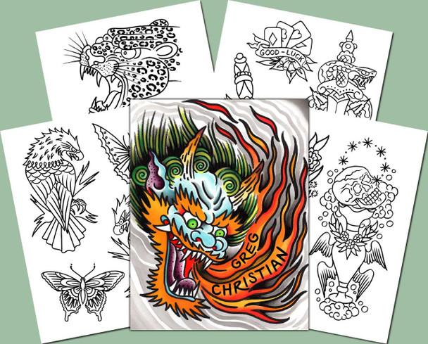 Greg Christian - Sketchbook