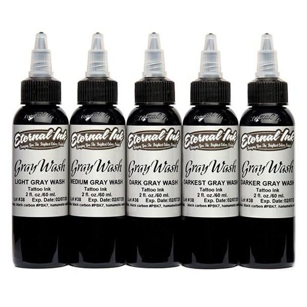 Eternal Ink Gray Wash 5 Range
