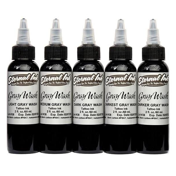 Eternal Ink Gray Wash 5 Range