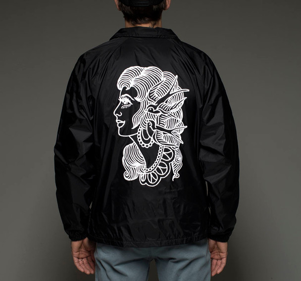Saltwater Tattoo Supply Windbreaker - Gypsy