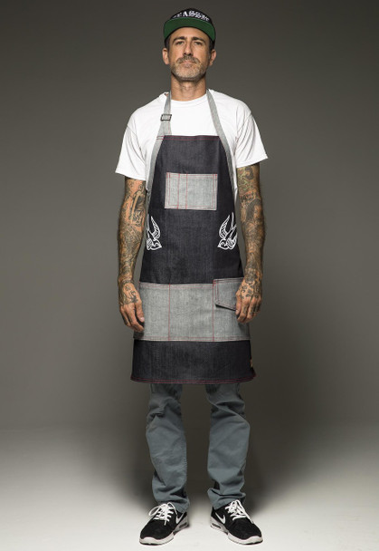 Hand Made Tattoo Apron - The Sparrow