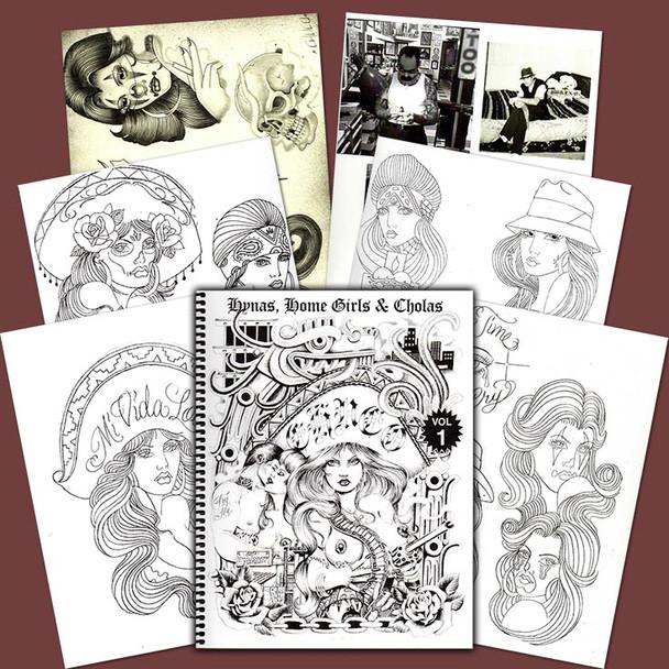 The Chuco - Sketchbook - Hynas, Home Girls & Cholas