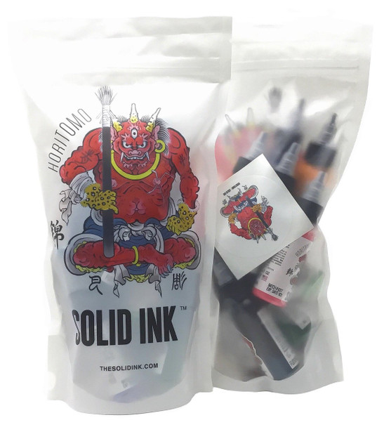 Solid Ink Horitomo Color Set ( 12 colors / 1oz )