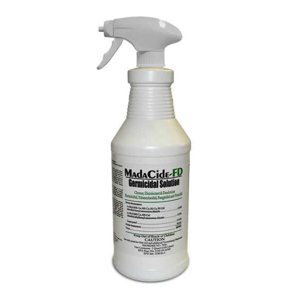 Madacide-FD - Germicidal Solution - 32oz Spray