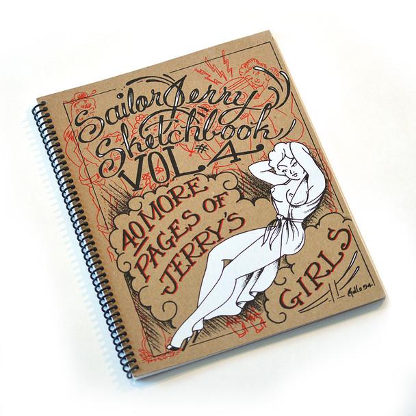 Sailor Jerry - Pin Up Sketchbook Volume 4