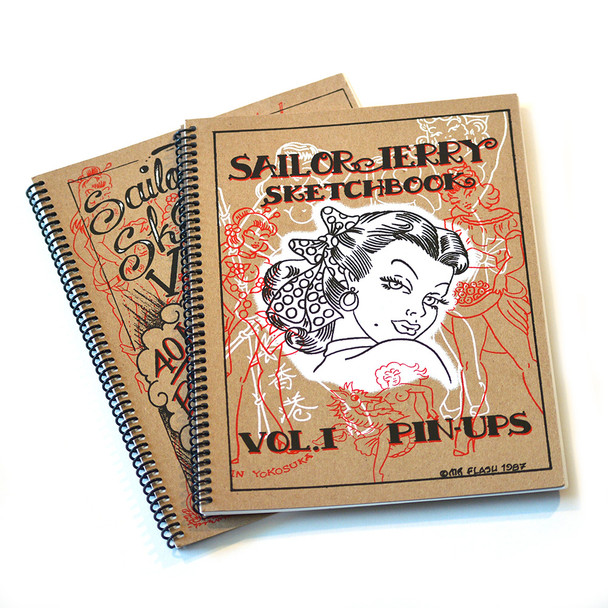 Sailor Jerry - Pin Up Sketchbook Set