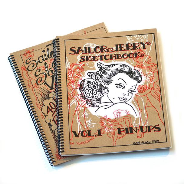 Sailor Jerry - Pin Up Sketchbook Set