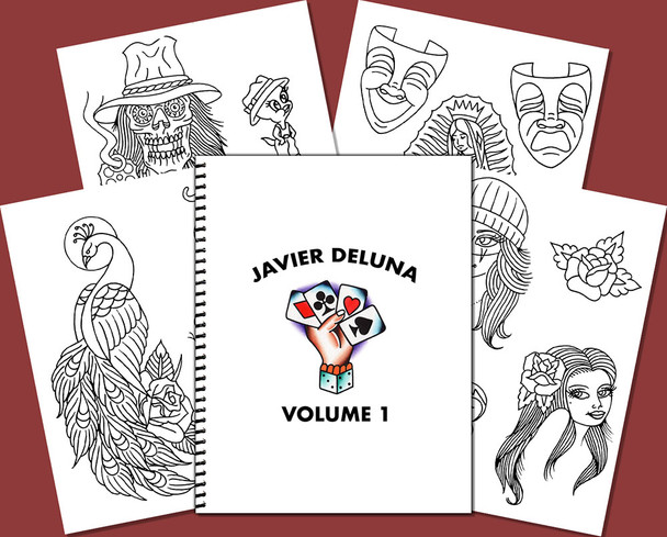 Javier DeLuna Sketchbook - Volume 1