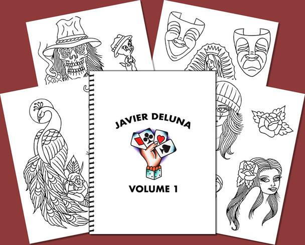Javier DeLuna Sketchbook - Volume 1