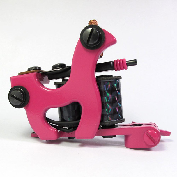 Brian Patton Tattoo Machine - One-Off Liner (fuchsia)