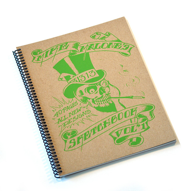 "Mike ""Rollo"" Malone Tattoo Sketchbook Volume 1 (1996)"