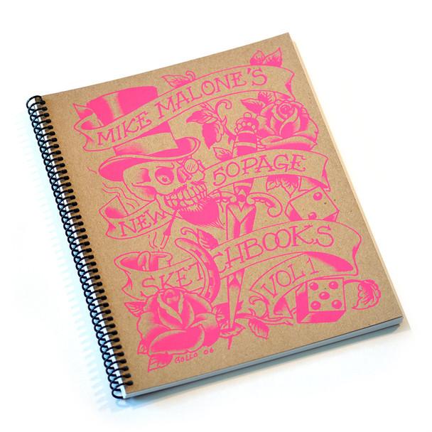 "Mike ""Rollo"" Malone Tattoo Sketchbook Volume 2 (2006)"