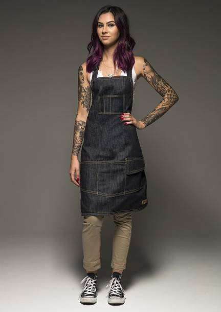 Hand Made Tattoo Apron - Women's Sarape Liner
