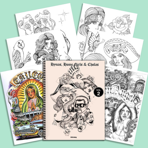 The Chuco - Sketchbook - Hynas, Home Girls & Cholas #2