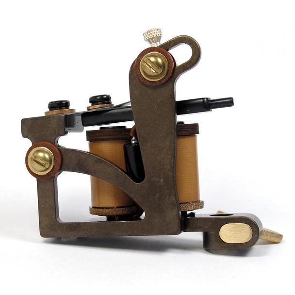 Ben Mack Tattoo Machine - One-Off Liner - Brown Coils