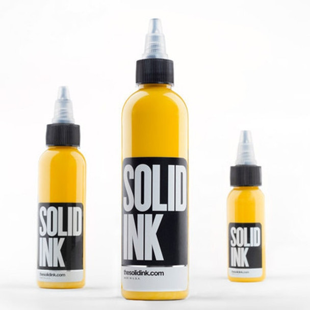 Solid Ink El Dorado Yellow ( 8oz ) (SOLID-EDY8)