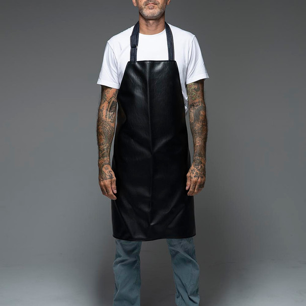 Hand Made Vinyl Tattoo Apron - Tattoo Pillow Collab