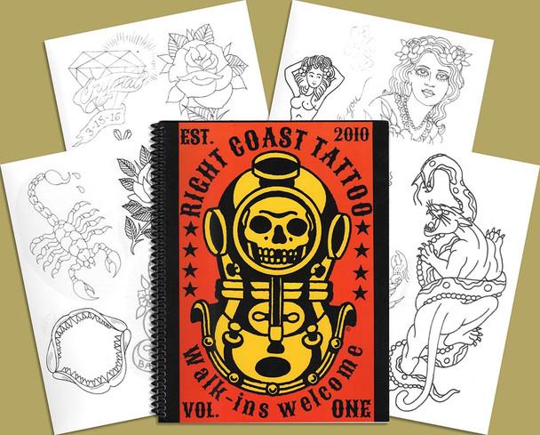 Right Coast Tattoo Sketchbook
