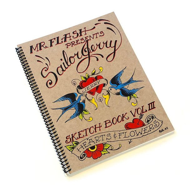 Sailor Jerry - Hearts & Flowers Volume 3