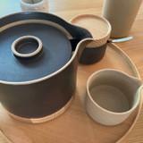 Hasami Porcelain Tea Pot - Matte Black