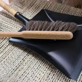 Metal Dust Pan - Black