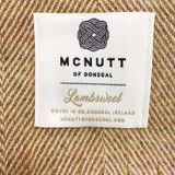 McNutt of Donegal Merino Lambswool Supersoft Blanket
