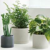KINTO Plant Pot 191 Earth Grey