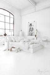 MagicLinen Queen Sized Pillowcase Cover - White