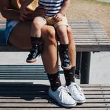 Lamington Crew Length Merino Wool Socks Woman - Erryl