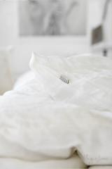MagicLinen King Duvet and Cover Set - White
