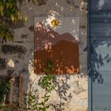 Landscape Wall Hanging 'Midday' - Caramel