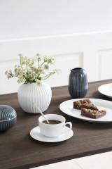 Kähler Design Hammershøi Vase Ø12.5 cm - White